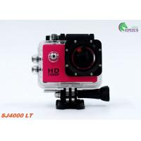 Muti Color Waterproof 1080P HD Action Camera SJ4000 30M Mini For Extreme Sport Manufactures