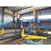 Gantry H Beam Welding Line Stable Running With Auto - Recovering System Manufactures
