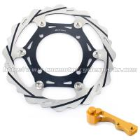Oversize Stainless Steel Brake Discs With Adaptor For Dirt Bike Parts Manufactures