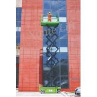 Quality DC Motor drive Self Propelled Scissor lift acess platform max working height 10m for sale