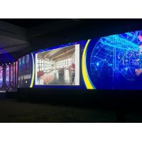 Super Thin P4 Digital Signage Video Wall , Indoor Led Video Wall High Resolution Manufactures