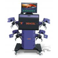 Robot CCD Computerized Wheel Aligner E312+ With Parking Camera Manufactures