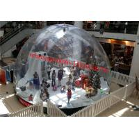 market city inflatable snow globe , giant inflatable snow globe , dubai plastic snow globe Manufactures