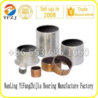 Zinc plating sleeve bush ,Du bearing lead free for auto parts Manufactures