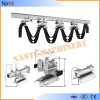 Cable Ball bearing H / I Beam Trolley Festoon System With Neoprene Bumper 300m/min Manufactures