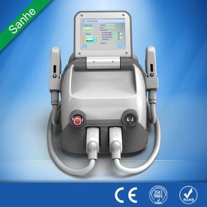 Beijing Sanhe laser ipl shr super hair removal machine / ipl SHR hair removal Manufactures