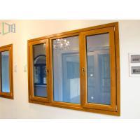 Thermal Break Open Aluminium House Casement Windows with Powder Coating Manufactures