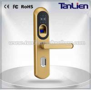 [TanLien] Fingerprint door lock system password keypad door lock KEY CARD Manufactures