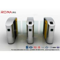 Turnstile Barrier Gate Waist Height RFID Turnstile Security Systems Automatic Flap Barrier Turn Style Door Manufactures