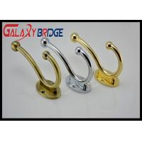 Simple Modern  Wall Hanging  Gold Plated Coat Hooks Anti-crossion Solid Zinc Bathroom Towel Bar Manufactures