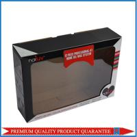 Clear PVC Window Folding Corrugated Paper Box with Custom Color Artwork Print Manufactures