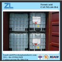 HCOOH 85%min Industrial Grade Formic Acid Cas No. 64-18-6 Manufactures