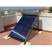 150liter high pressure evacuated tube solar water heater Manufactures