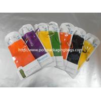 500ml Traveling / Sports Portable Water Bag Spouted Pouches Custom Manufactures