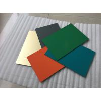 Polyester Paint Aluminum Sandwich Panel 2000 * 5700 * 4mm With 0.30mm Alu Thickness Manufactures