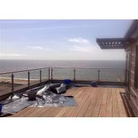 Glass Panel Stainless Steel Glass Railing Post Balustrade Installation For Balcony Manufactures