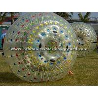 Colorful Dot Row Inflatable Human Zorb Hamster Ball , Rolling On Grass Manufactures