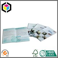 Saddle Binding Glossy Surface Custom Color Print Paper Catalog Brochure Manufactures