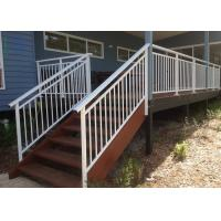 High Strength Aluminium Outdoor Stair Handrail For Residential Housing Manufactures