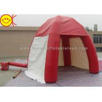 Outdoor Lawn Event Mini 3m Inflatable Tent PVC Red Inflatable Dome Tent With Door Manufactures