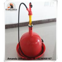 Red Orange Automatic Plasson Chicken Drinker for Poultry Farm for Chicken Deep Litter System(Plastic) Manufactures