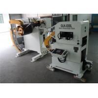 Autoamtic Precision Pressing Decoiler Straightener Feeder For 68mm Roller Diameter Manufactures