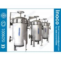 Buy cheap BOCIN stainless steel multi bag filter with CE certificate for water treatment filtration from wholesalers
