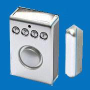 CX - MH206 Solar Door and Window Motion Sensor Alarms With Magnet Contactor Separate Manufactures