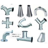 Buy cheap Mirror polished sanitary stainless steel pipe fitting Material 304,316-Accesorios sanitarios from wholesalers