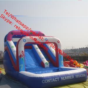 Slide Game  Inflatable Water Slide Inflatable Slide Pool Slide Water Park Manufactures