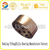 Quality customized OEM oilless bearing bushing bearing,automobile parts,wrapped graphite bronze bush for sale