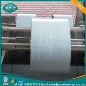 Polyethylene Bitumen Anti Corrosion Tape Self Adhesive XUNDA T 600 Black 1.65mm Thick Manufactures