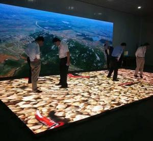 led dance Floor LED screen Interactive led floor panel dance floor led P3.91 charming led floor Manufactures