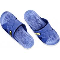 Washable Durable Anti Static Shoes Blue Color Attractive Clean Room Slippers For Lab Manufactures