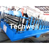 Double Layer Roll Forming Machine For Roofing Sheet Forming Machine With Hydraulic Cutting Manufactures