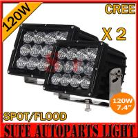 Buy cheap High Power7.4 INCH 120W CREE LED DRIVING LIGHT 4X4 FOG LIGHT OFFROAD MACHINERY from wholesalers
