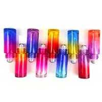 Customized Gradient Glass Roller Bottles For Essential Oils 5ml 10ml 15ml Manufactures