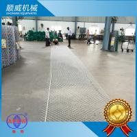 2.5T Weight Chain Link Fencing Machine Weaving Diameter 1.4mm - 4.5mm Manufactures