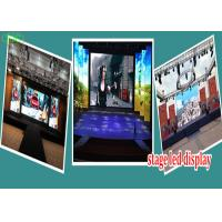 high definition indoor p3.91 stage background led  big screen with light cabinet Manufactures