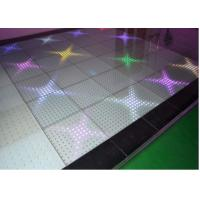 Touch Sensitive Interactive LED Floor Tiles High Resolution P10 Manufactures