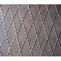 Quality Galvanized BTO-22 Welded Razor Wire Mesh with 75x150mm Aperture Mineral fences for sale