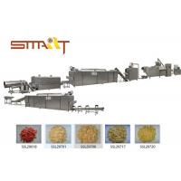 Efficient Corn Flakes Production Line With Auto Temperature Controlling System Manufactures