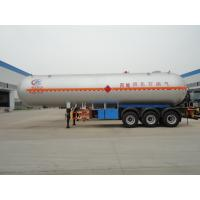 China best 3 axles 56,000L LPG  gas tanker semitrailer for propane for sale, BPW axles gas cooking propane tank trailer Manufactures