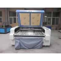 Laser Fabric Cutter CO2 Laser Cutting Engraving Machine , Laser Power 100W Manufactures