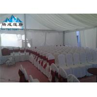 Clear Span Structure Wedding Event Tents Hot - DIP Galvanized For 500 People Manufactures