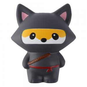 Squishy Slow Rising Kawaii Squishy Fox Nijia Panda Animal Squishy Toys Slow Rebound PU Toy Manufactures