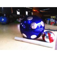 Customized Dot Inflatable Mirror Ball Decoration inflatable balloons for advertising Manufactures
