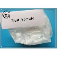 Test Acetate Testosterone Steroid Muscle Gains and Strengthening White Powder Manufactures