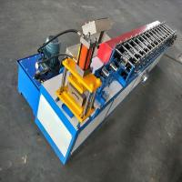 8-10m / Min Capacity Shutter Door Roll Forming Machine With Mold Cutting Manufactures