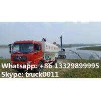 Quality Dongfeng 4*2 LHD Euro 4 fish feed delivery truck for sale, factory direct sale for sale